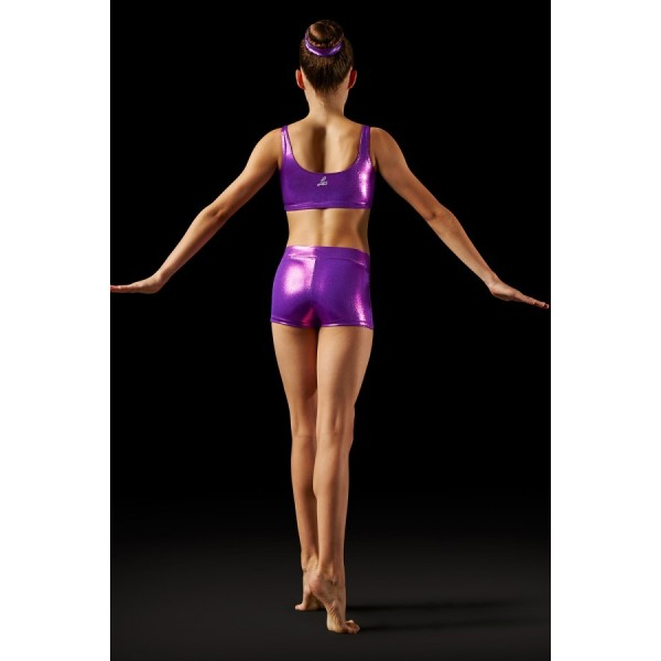 Bloch Leos Foil V-front Short, shorts for women