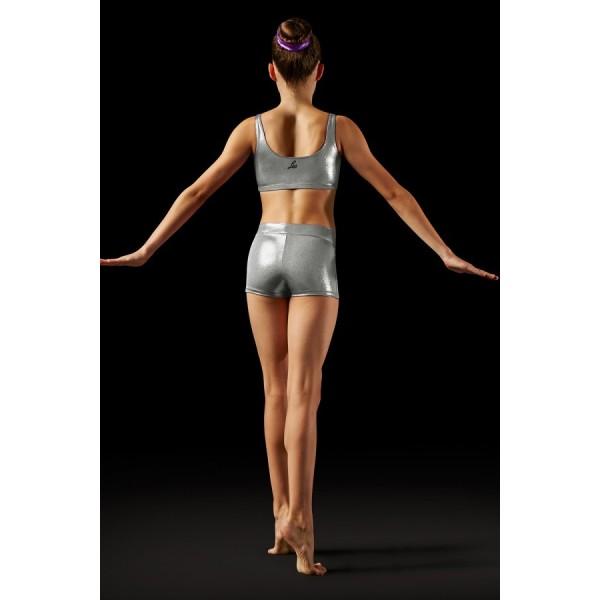 Bloch Leos Foil V-front Short, shorts for kids