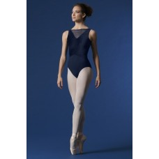 Mirella Mesh Panel Neckline, leotard for ladies