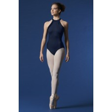 Mirella Scoop neck velvet, leotard for ladies