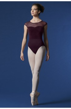 Mirella Halter neck velvet, leotard for ladies