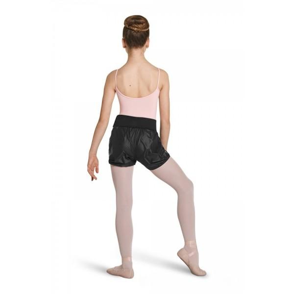 Mirella Rip stop warm-up shorts for girls