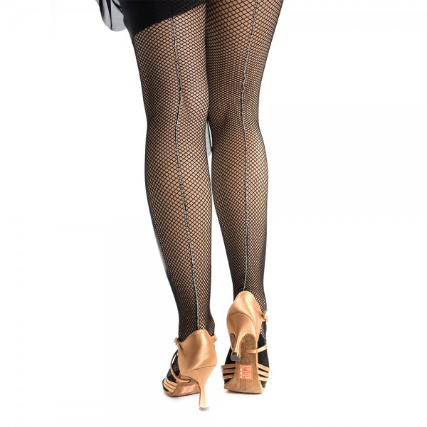 Pridance, fishnet tights with crystal rhinestones
