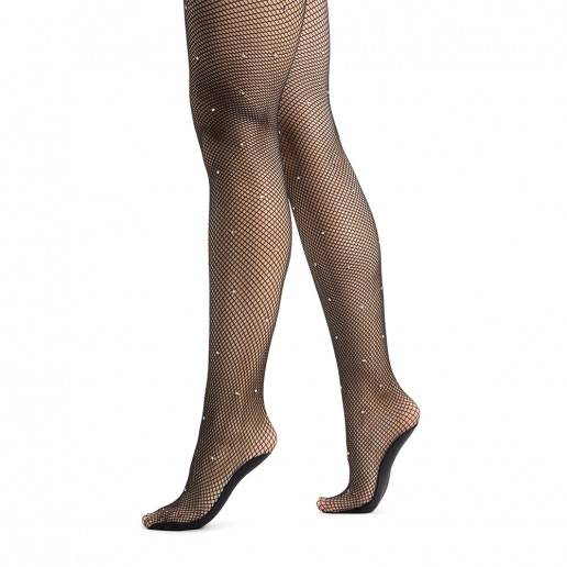 Pridance, fishnet tights with strass