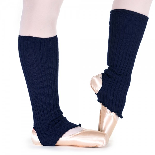 Pridance, knee-length stirrup leg warmers