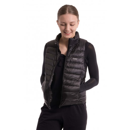 Sansha down fleece vest to keep a dancer warm