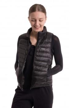 Sansha down fleece vest to keep a dancer warm