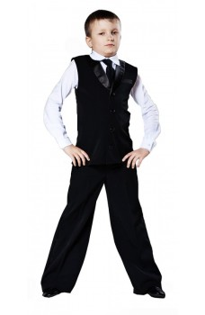 Ballroom vest for boys 721