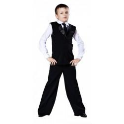 Ballroom vest for boys 721