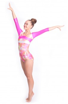 Capezio Gymnastics Arch Back, gymnastics leotard for women