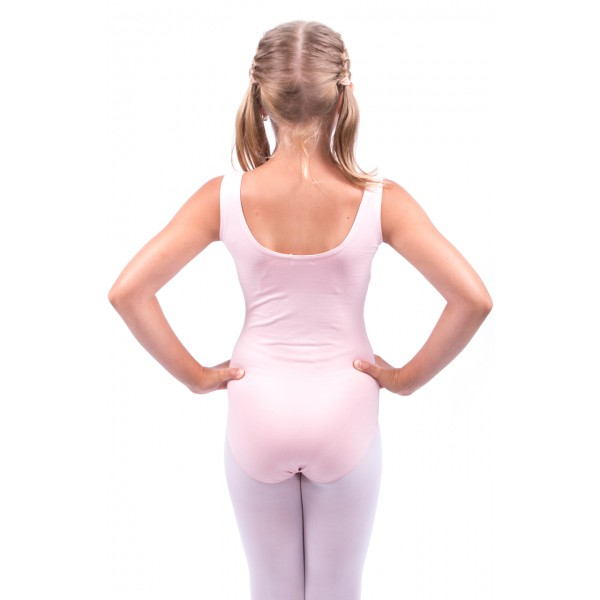 Sansha Basic, ballet leotard with thick straps