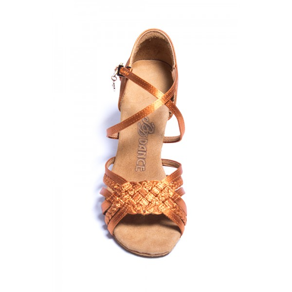 BD Dance, plaited latin shoes for women