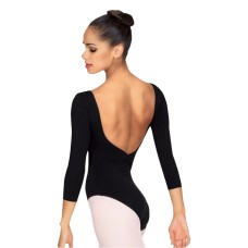 Bloch Ballon, leotard with three quarter sleeve