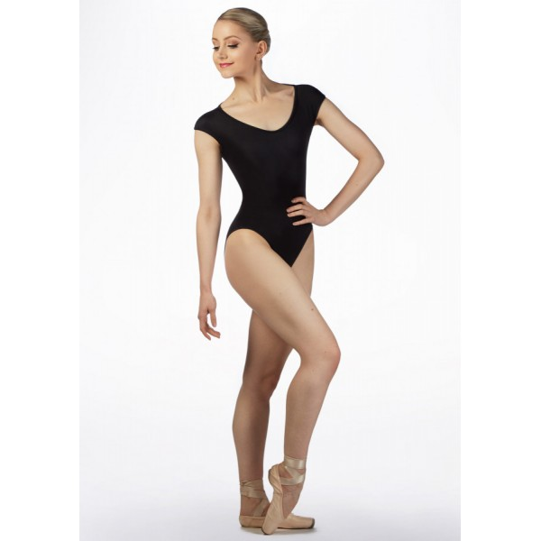 <span style='color: red;'>Out of order</span> Bloch Daan, floral ballet reversible leotard