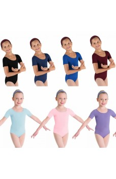Bloch ballet, Short Sleeve Leotard