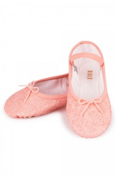 Bloch Sparkle, shimmering ballet slippers for kids