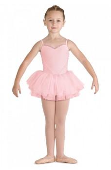 Bloch Valentine, leotard with tutu skirt for kids