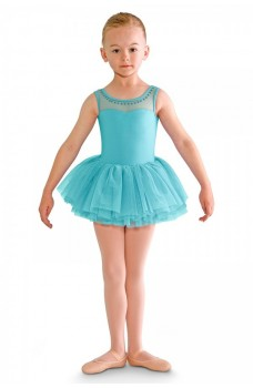 Bloch Blondelle leotard with tutu skirt for girls