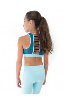Capezio Colourblock High Neck Bra Top, sporty bra