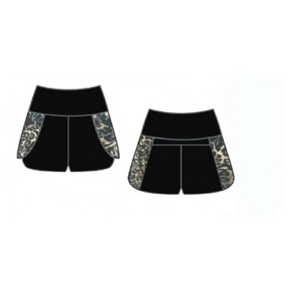 Capezio Damask Shorts, for girls