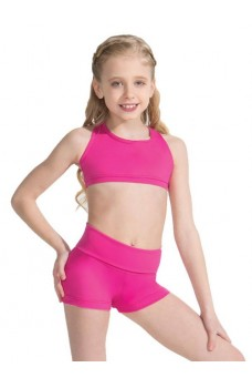 Capezio Foldover Boyshort, shorts for children