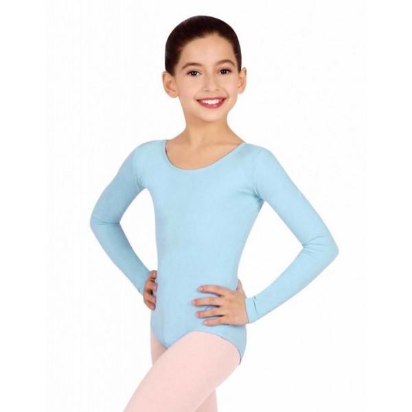 Capezio long sleeve leotard for girls