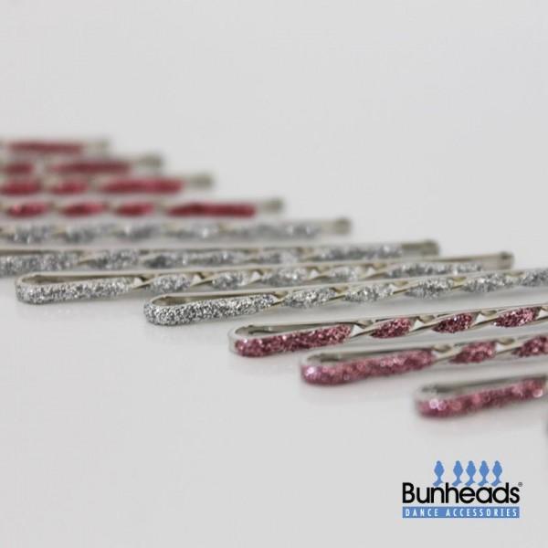 Capezio glitter glam bobby pins