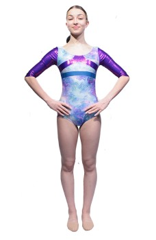 Capezio Gymnastics Arch Back, gymnastics leotard for girls