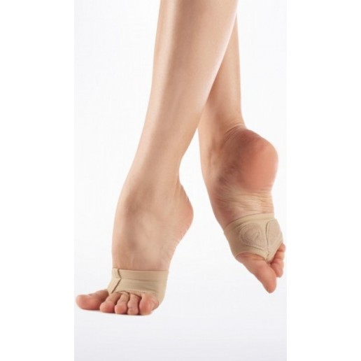 Capezio Jelz footUndez H07G, elastic foot thongs for kids