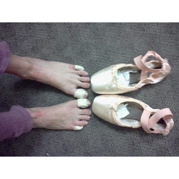 Bunheads Toe Tape, band-aids for toes