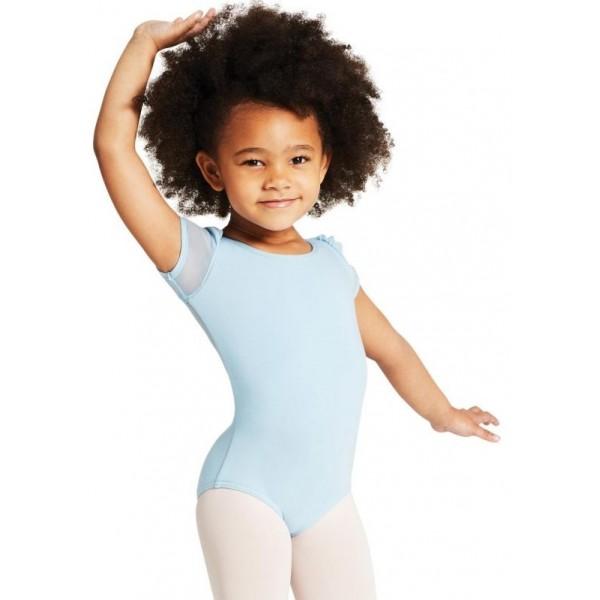 Capezio puff sleeve leotard for children