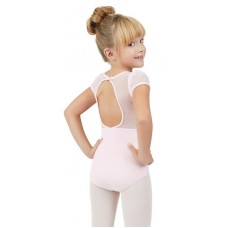 Capezio puff sleeve leotard for children