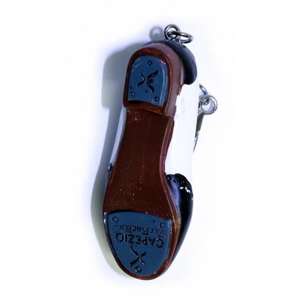 Capezio tap shoes, key ring