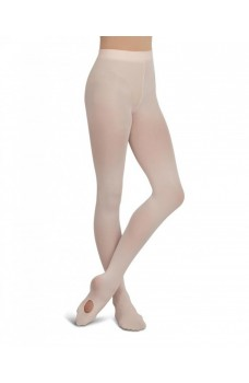 Capezio ultra soft self knit waistband, convertible pantyhose