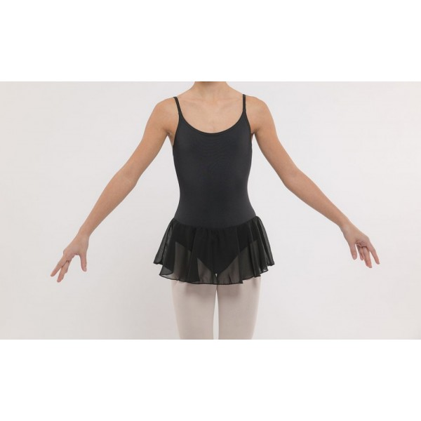 Dansez Vous Luna, leotard with spaghetti straps and skirt