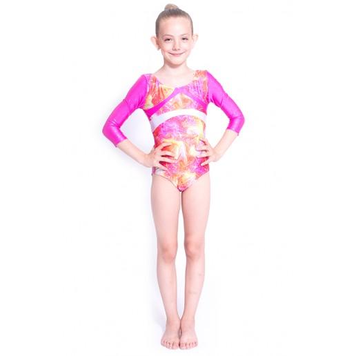Capezio Gymnastics Arch Back, gymnastics leotard for girls