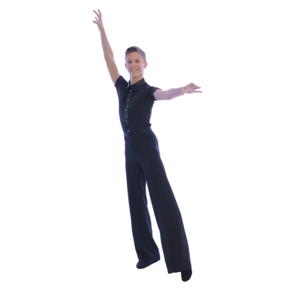 Ballroom pants for men Basic
