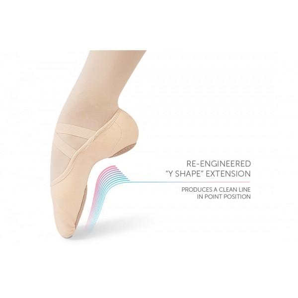 Intrinsic Profile 2.0, ballet slippers for flat feet, children