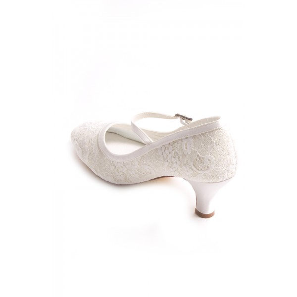 Megan, wedding shoes