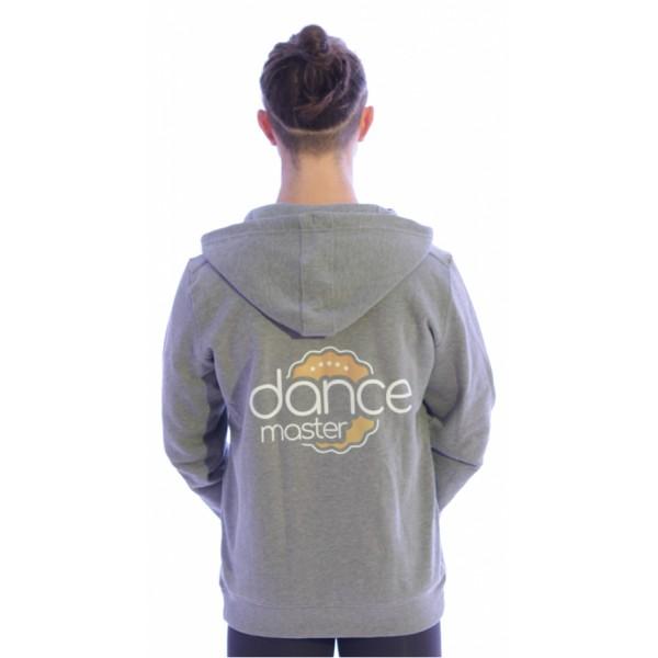 DanceMaster training hoodie zipper for men