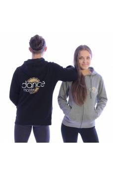 DanceMaster training hoodie, zip hoodie