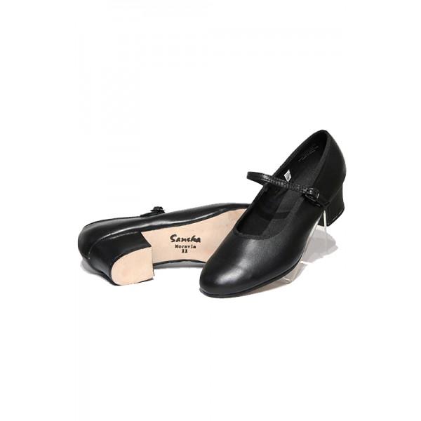 Sansha Moravia, character shoes