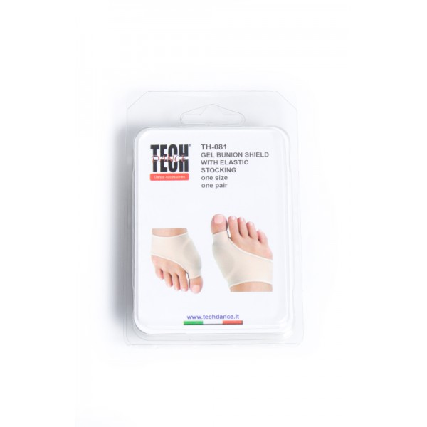 Tech dance TH081, gel protection with a sock
