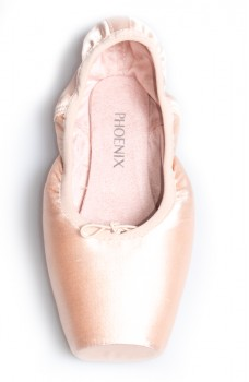 Capezio Phoenix pointe shoes, hard insole