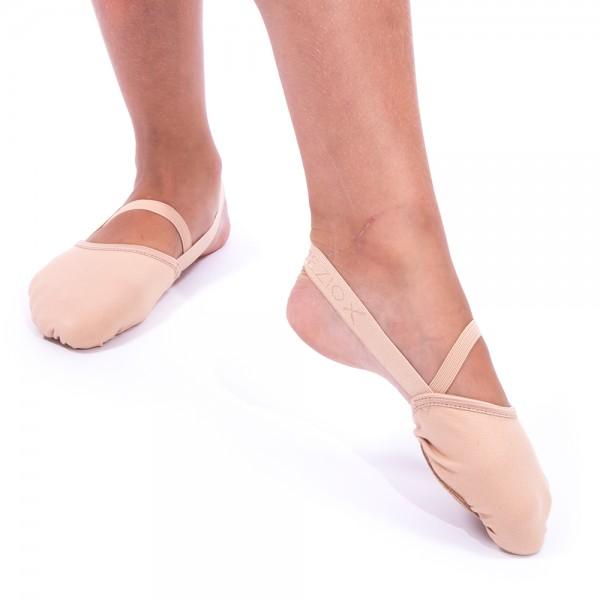Capezio Hanami PIROUETTE, open heel elastic shoes for kids