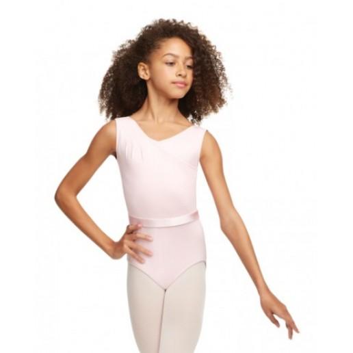 Capezio Princess Perfect, ballet leotard with ribbon