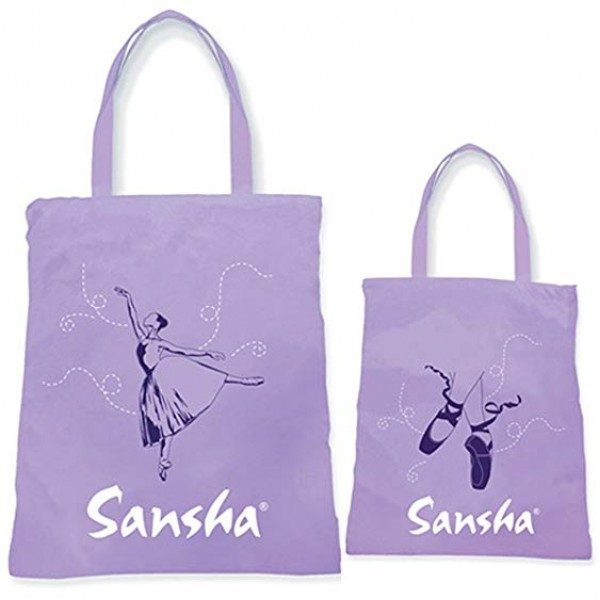 Sansha tote bag with dancer print for children