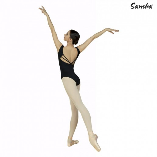 Sansha Perry, leotard with open back