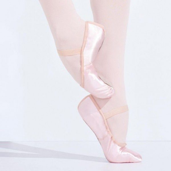 Capezio Satin Daisy ballet shoes for children