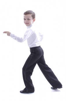 Ballroom pants for boys Basic